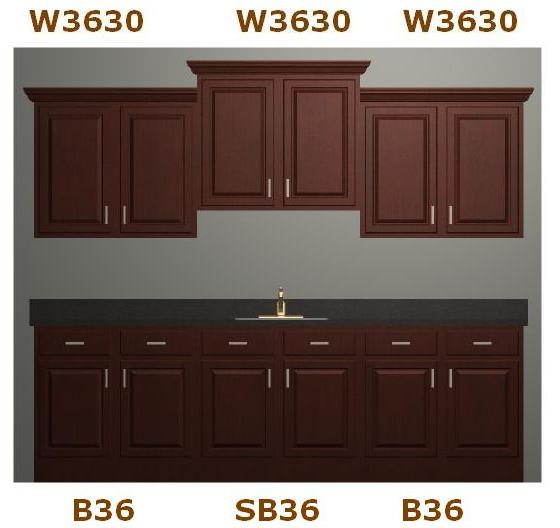 Elite Maple Kitchen Cabinets All Wood Cabinetry RTA 9