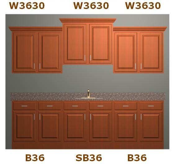 Knotty Oak RTA Kitchen Cabinets DIY Remodel Quick-Easy